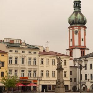 Náměstí Frýdek Místek - Místecké náměstí Svobody - za kafe